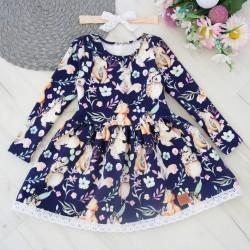 Sukienka z opaską