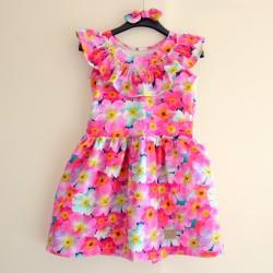 Sukienka + gumka do włosów