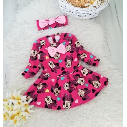 Sukienka z opaską Myszka Minnie