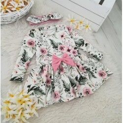 Sukienka Garden + Opaska