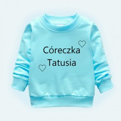 Bluza córeczka tatusia/mamusi